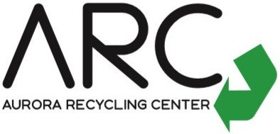 Aurora Recycling Center logo