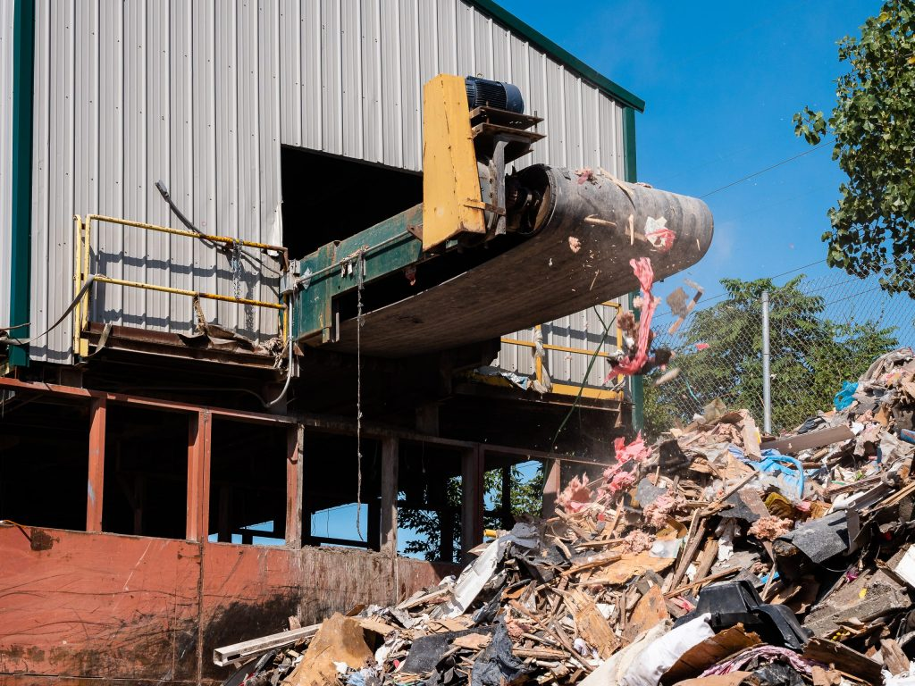 Economy Disposal recycling facility
